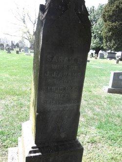 Sarah Baker <I>Halyard</I> Adams