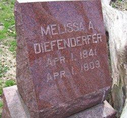 Melissa A. <I>Burns</I> Diefenderfer