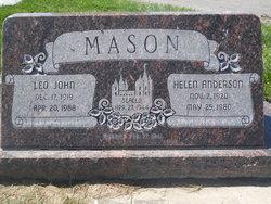 Leo John Mason