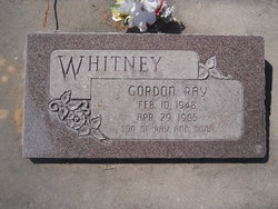 Gordon Ray Whitney