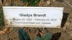 Gladys Burnis <I>Weiss</I> Brandt