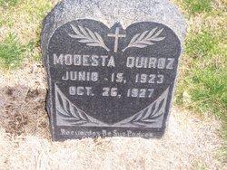 Modesta Quiroz