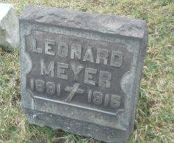 Leonard Meyer