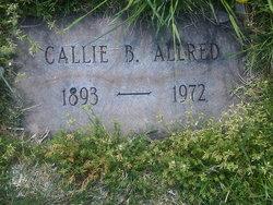 Callie <I>Braswell</I> Allred