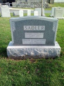 Robert Fletcher Sadler, Sr