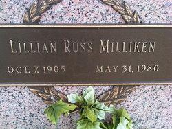 Lillian Louvenia <I>Russ</I> Milliken