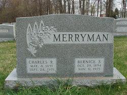Bernice Susanna <I>Sparks</I> Merryman