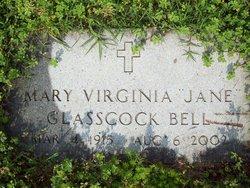 "Mary Virginia Jane ""Jane"" <I>Glasscock</I> Bell"