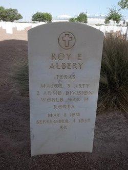 Roy Estle Albery