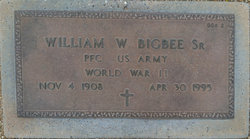 William W Bigbee, Sr