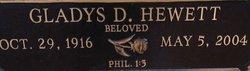 Gladys Dorothy <I>Clemmons</I> Hewett