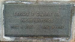Leroy F Curry, Jr
