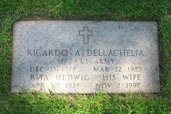 Sgt Ricardo Albert Dellaghelfa