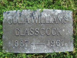 Julia Angeline <I>Williams</I> Glasscock