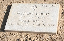 PFC Alfonso Garcia