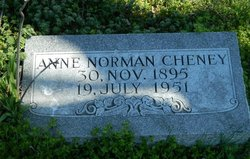 Anne <I>Norman</I> Cheney