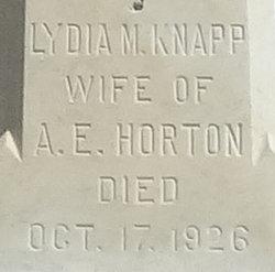 Lydia Maria <I>Smith</I> Horton