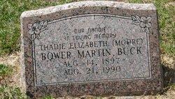 Thadie <I>Moore</I> Bower
