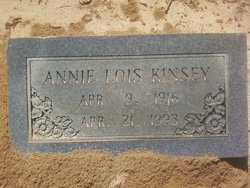 Annie Lois <I>Pannell</I> Kinsey