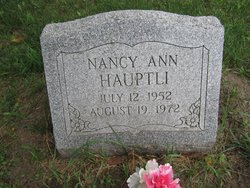 Nancy Ann Hauptli