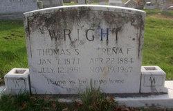 Trena F. <I>Pape</I> Wright
