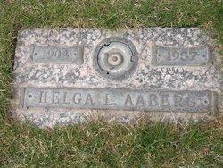 Helga Lenora <I>Holm</I> Aaberg