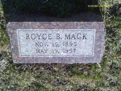 Royce B Mack