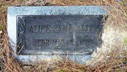 Alice Jane Allen