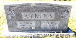 """Charles Edward """"Edwin"""" Atkins"""