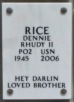 Dennie Rhudy Rice, II