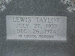 PFC Lewis Taylor