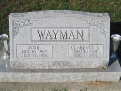 Josie <I>Reeder</I> Wayman