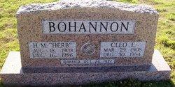 "Herbert M ""Herb"" Bohannon"