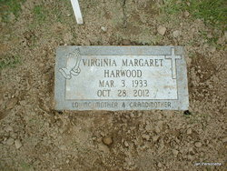 Virginia Margaret <I>Thompson</I> Harwood
