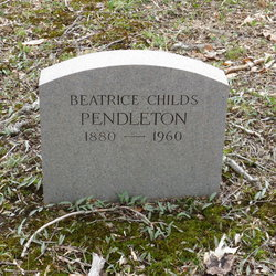 Beatrice <I>Childs</I> Pendleton