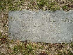 Marion Williams Arbogast