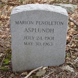 Marion <I>Pendleton</I> Asplundh