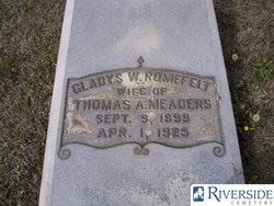"Gladys Winiford ""Winnie"" <I>Romefelt</I> Meaders"