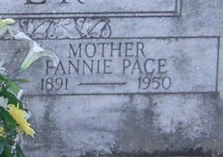 Fannie <I>Pace</I> Groover