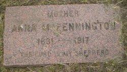 Anna Maria <I>Springer</I> Pennington