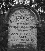 Mary <I>Hedrick</I> Carroll
