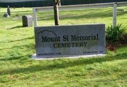 Mount Si Memorial Cemetery