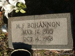 H. F. Bohannon