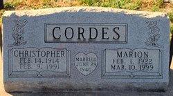 Christopher Cordes