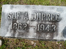"Susan Forrest ""Sue"" <I>Anderson</I> Dupree"
