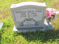 Patricia Louise <I>Davis</I> Todd