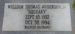 "William Thomas ""Squeaky"" Anderson, Jr"