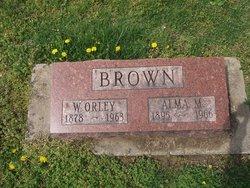 Alma M. <I>Sandbach</I> Brown