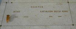 Kathleen Ruth <I>King</I> Harper