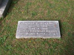 Katherine Elise <I>Latimer</I> Atkinson